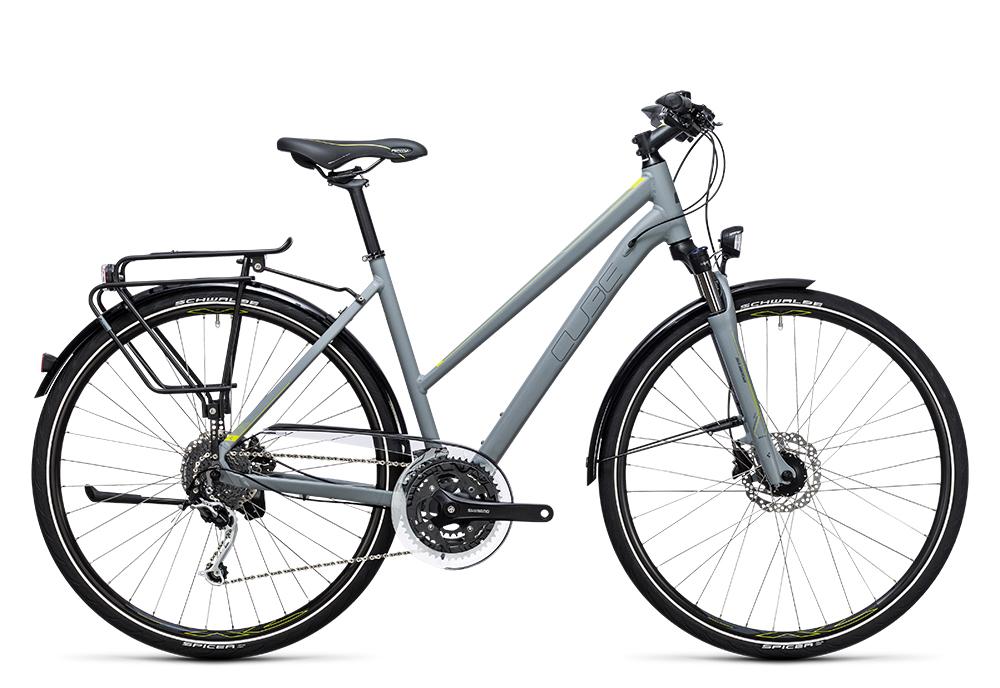 Cube Touring Exc grey´n´lime 2017 Größe: Easy Entry 46 cm - Bergmann Bike & Outdoor