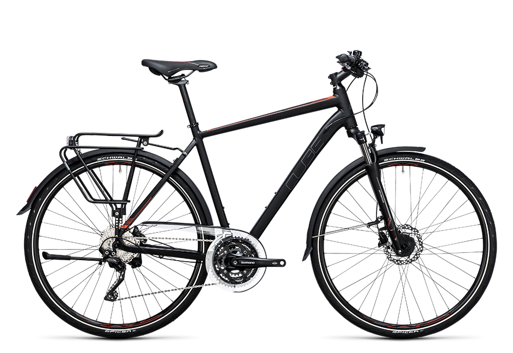 Cube Touring SL black´n´flashred 2017 Größe: 46 cm - Bergmann Bike & Outdoor