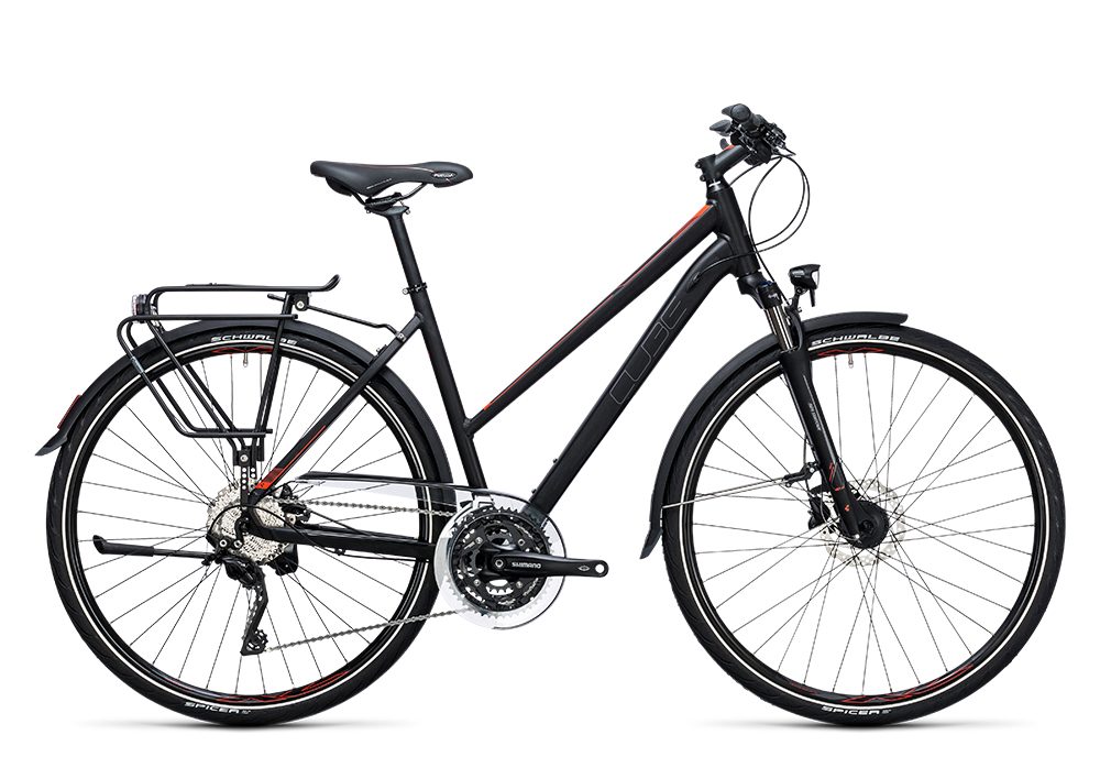 Cube Touring SL black´n´flashred 2017 Größe: Easy Entry 46 cm - Bergmann Bike & Outdoor