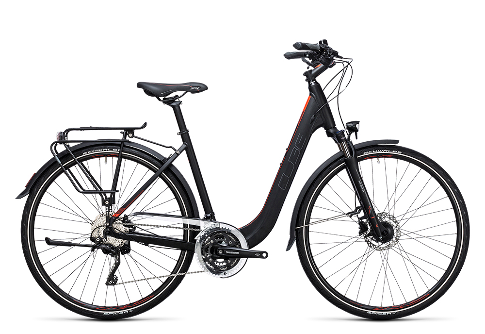 Cube Touring SL black´n´flashred 2017 Größe: Trapeze 54 cm - Bergmann Bike & Outdoor