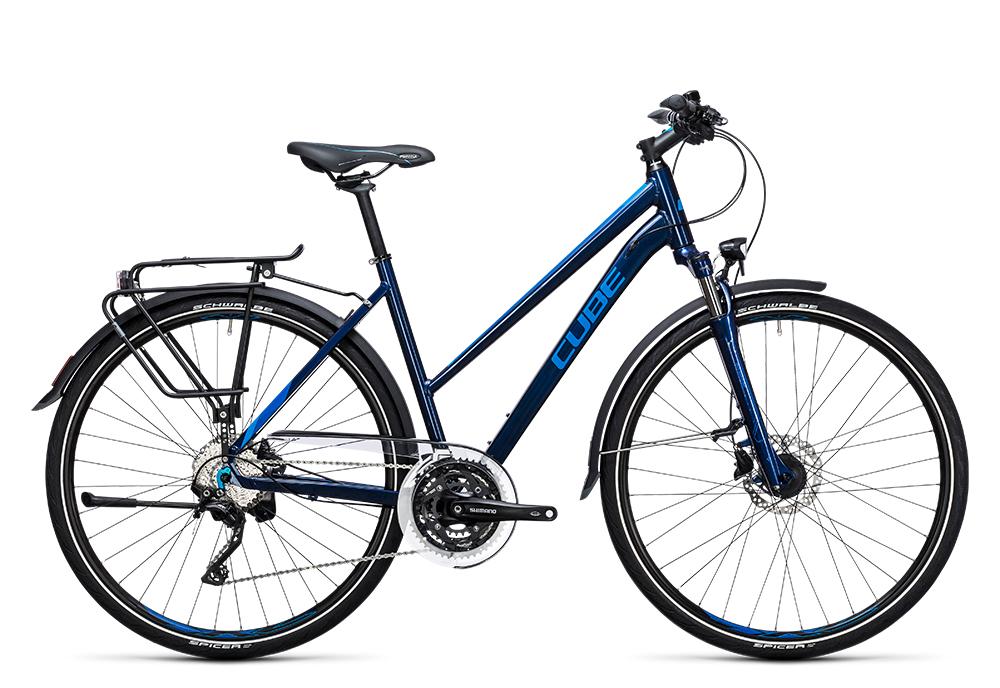 Cube Touring SL blue´n´blue 2017 Größe: Easy Entry 46 cm - Bergmann Bike & Outdoor