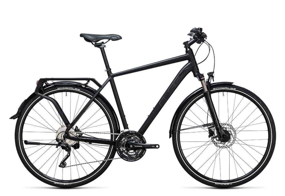 Cube Delhi Pro black´n´grey  2017 Größe: 58 cm - Cube Bikes » Fahrrad kaufen im Cube Bike Store Fahrrad Shop