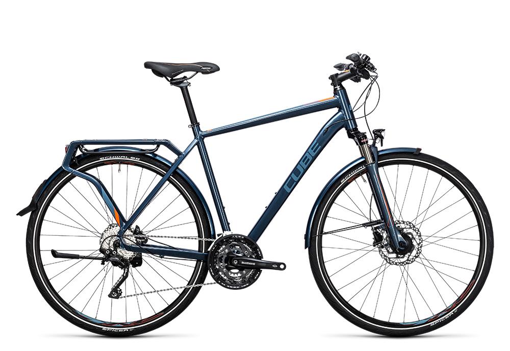 Cube Delhi Pro smoky blue´n´flashorange 2017 Größe: 46 cm - Bergmann Bike & Outdoor