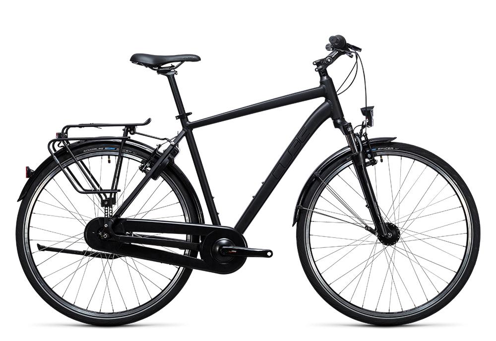 Cube Town Pro Comfort black 2017 Größe: 46 cm - Bergmann Bike & Outdoor