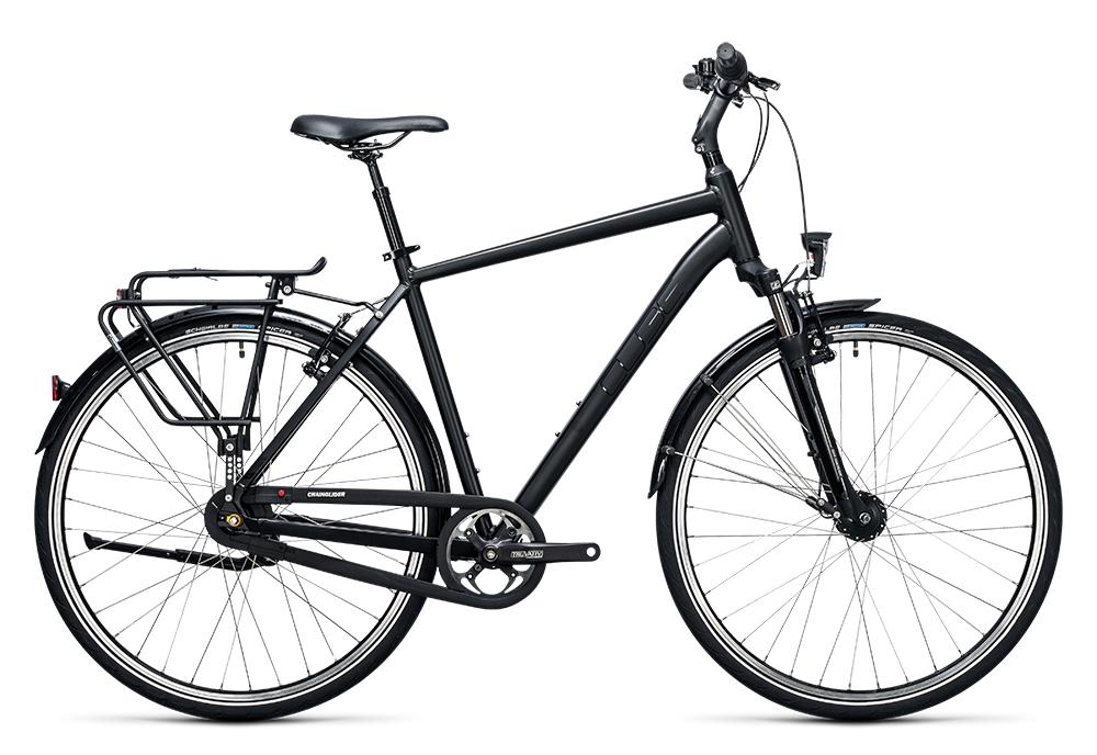 Cube Town Pro black 2017 Größe: 46 cm - Bergmann Bike & Outdoor