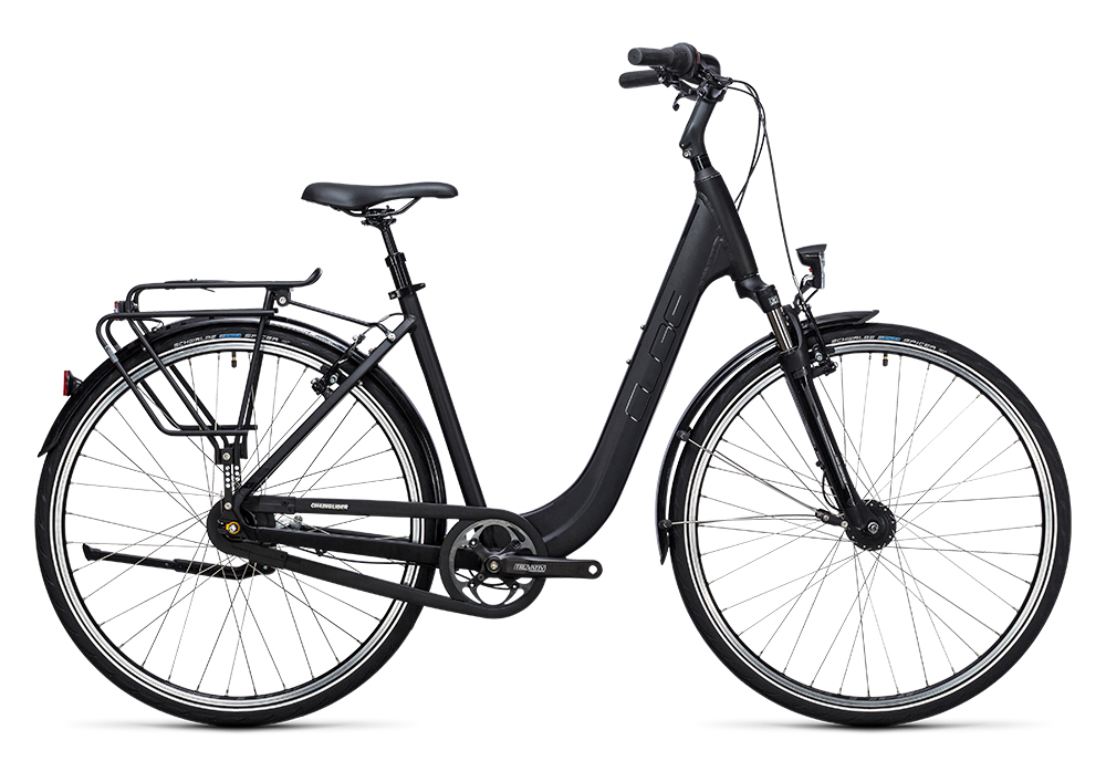 Cube Town Pro black 2017 Größe: Easy Entry 46 cm - Bergmann Bike & Outdoor