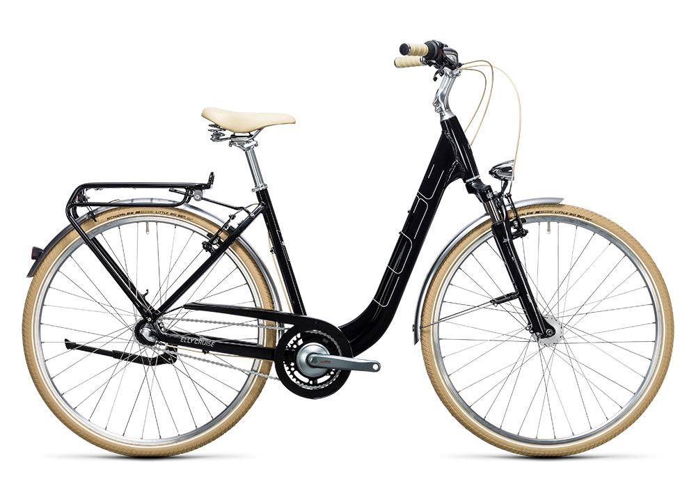 Cube Elly Cruise black´n´white 2017 Größe: Easy Entry 46 cm - Bergmann Bike & Outdoor