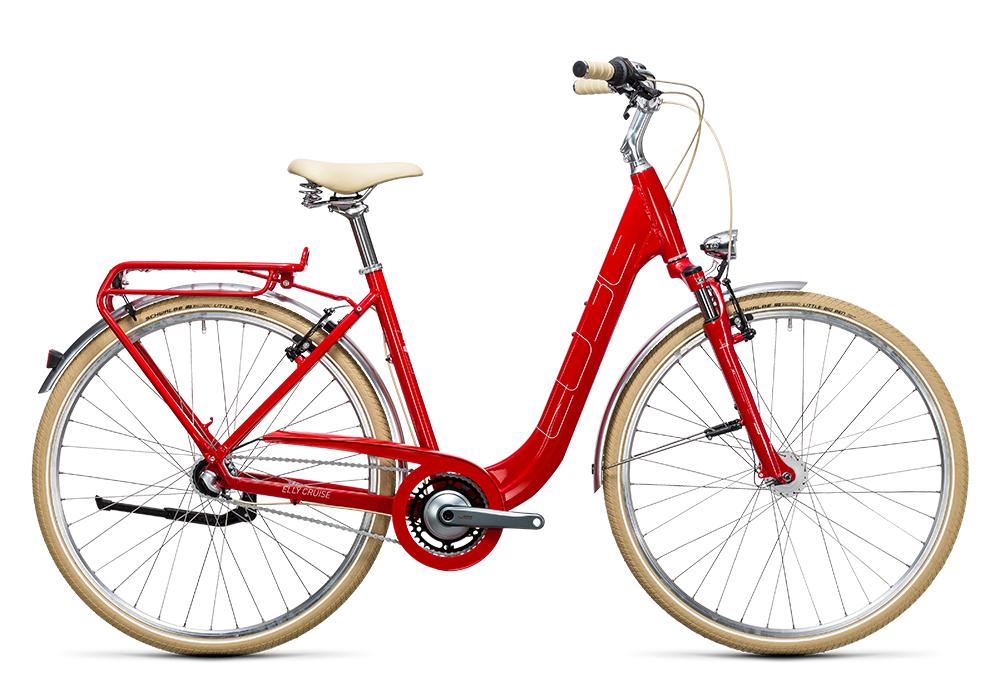 Cube Elly Cruise red´n´white 2017 Größe: Easy Entry 46 cm - Bergmann Bike & Outdoor