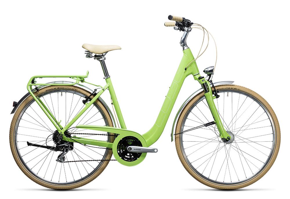 Cube Elly Ride green´n´white 2017 Größe: Easy Entry 46 cm - Bergmann Bike & Outdoor