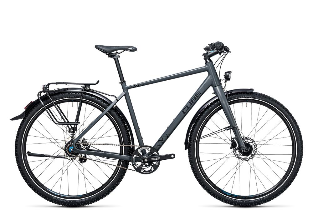 Cube Travel Pro grey´n´black 2017 Größe: 46 cm - Bergmann Bike & Outdoor