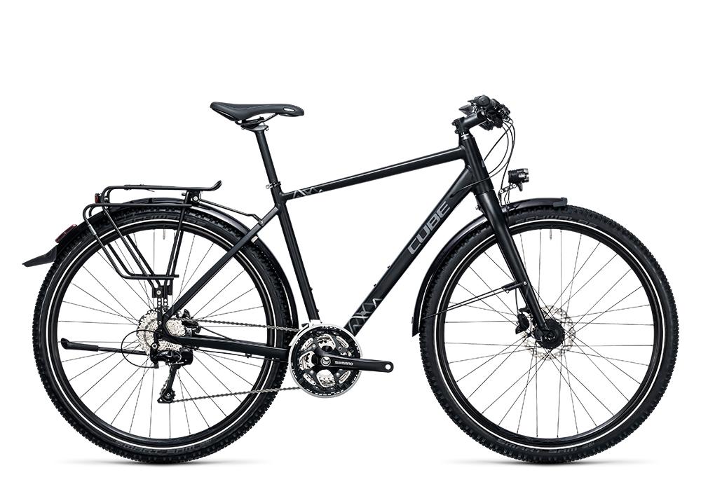 Cube Travel Exc black´n´grey 2017 Größe: 46 cm - Bergmann Bike & Outdoor
