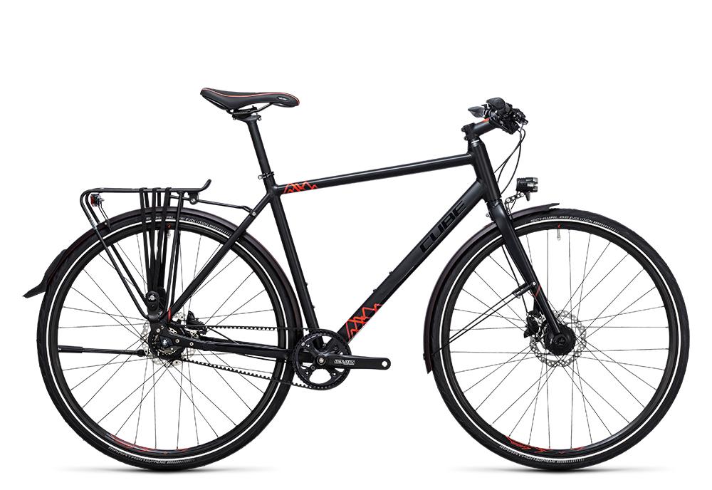 Cube Travel SL black´n´red 2017 Größe: 46 cm - Bergmann Bike & Outdoor