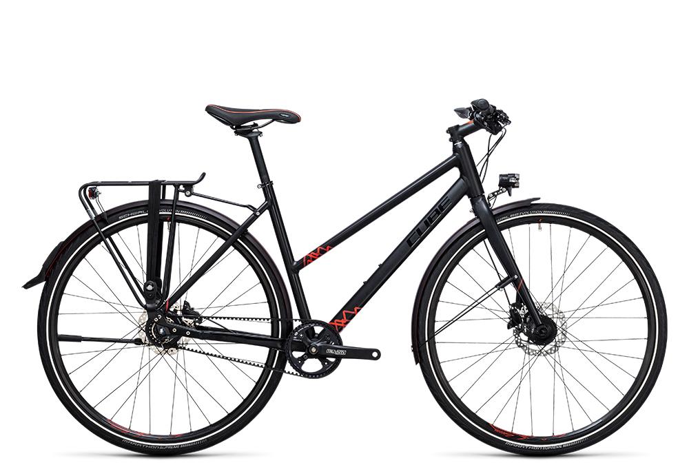 Cube Travel SL black´n´red 2017 Größe: Trapeze 50 cm - Cube Bikes » Fahrrad kaufen im Cube Bike Store Fahrrad Shop
