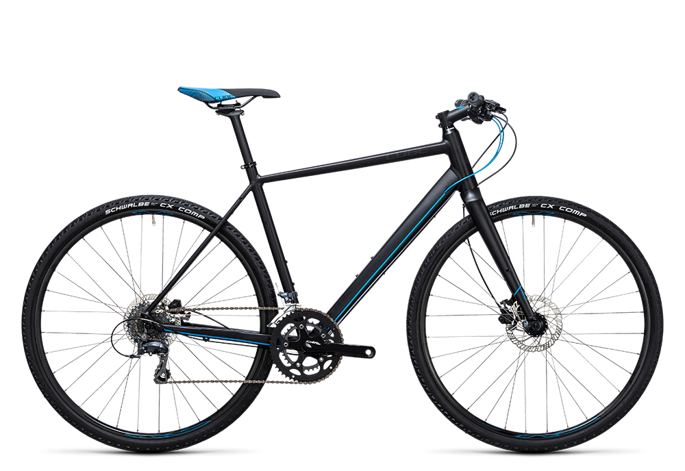 Cube SL Road black´n´flashblue 2017 Größe: 50 cm - Bergmann Bike & Outdoor