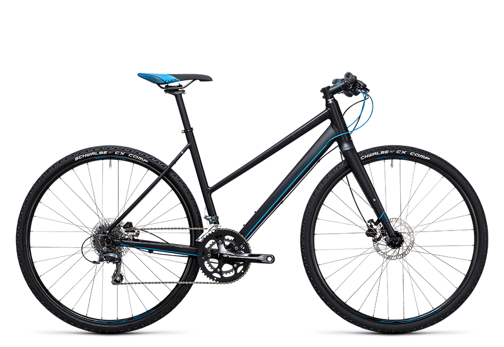 Cube SL Road black´n´flashblue 2017 Größe: Trapeze 46 cm - Bergmann Bike & Outdoor
