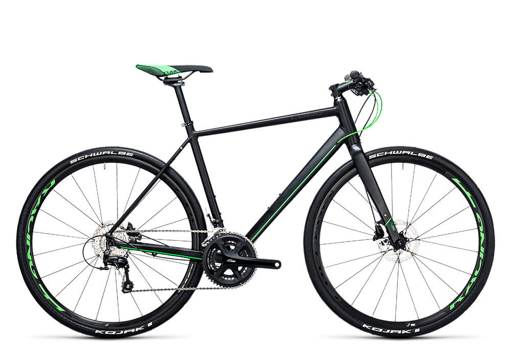 Cube SL Road Race black´n´flashgreen 2017 Größe: 62 cm - Bergmann Bike & Outdoor