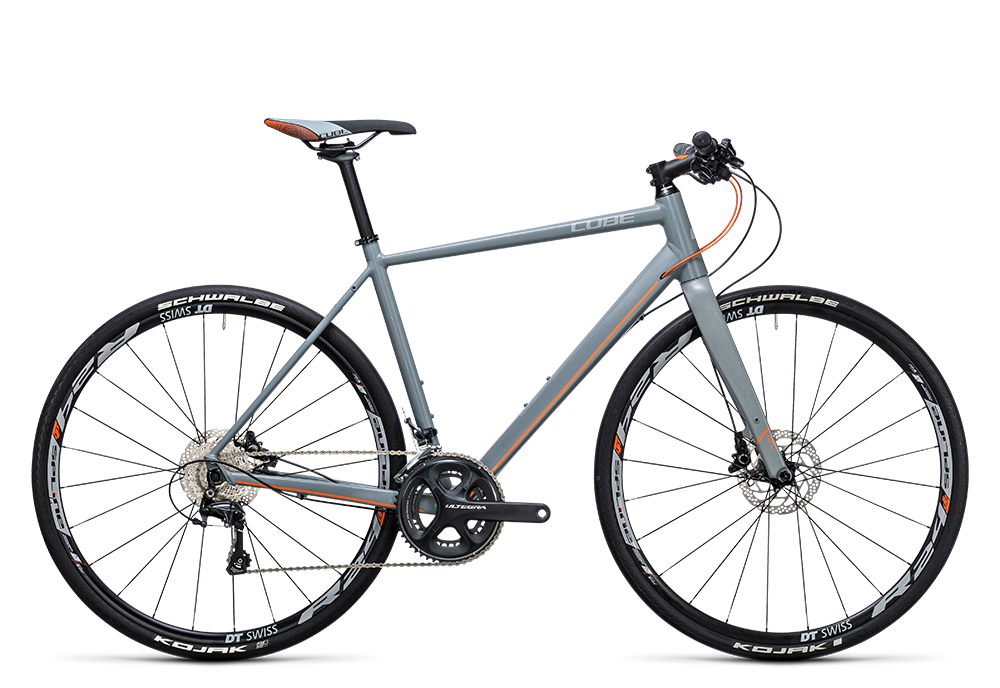 Cube SL Road SL grey´n´flashorange 2017 Größe: 50 cm - Bergmann Bike & Outdoor