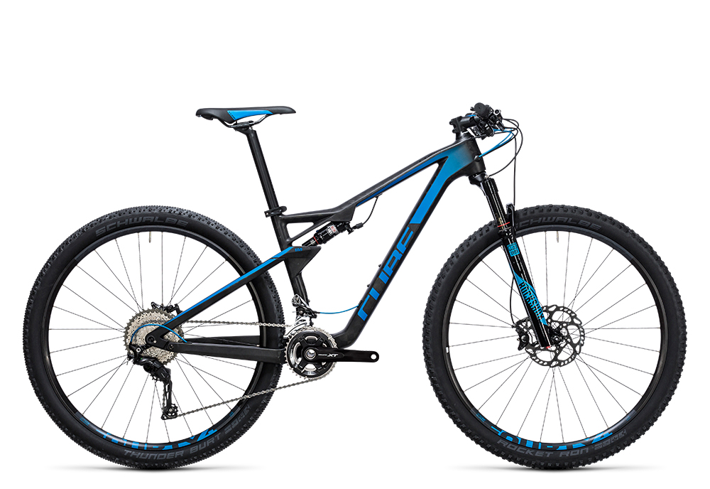 Cube AMS 100 C:68 Race 29 blue carbon 2017 Größe: 16´´ - Bergmann Bike & Outdoor