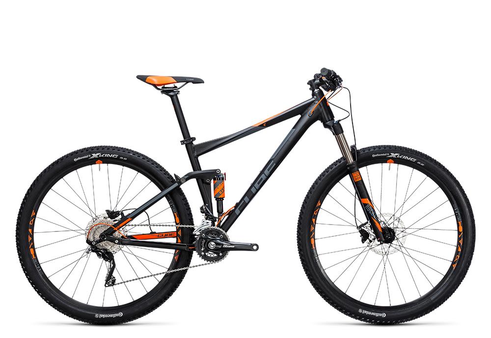 Cube Stereo 120 HPA Pro black´n´flashorange 2017 Größe: 20´´ - Cube Bikes » Fahrrad kaufen im Cube Bike Store Fahrrad Shop