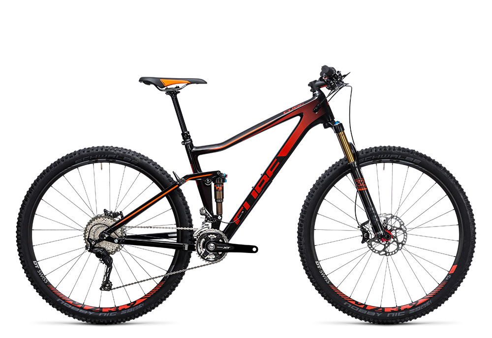 Cube Stereo 120 HPC SL carbon´n´red 2017 Größe: 16´´ - Bergmann Bike & Outdoor