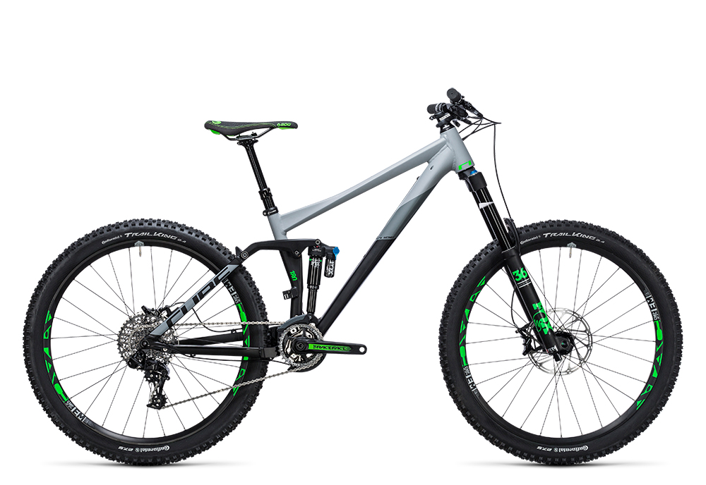 Cube Fritzz 180 HPA Race 27.5 black´n´grey 2017 Größe: 16´´ - Bergmann Bike & Outdoor