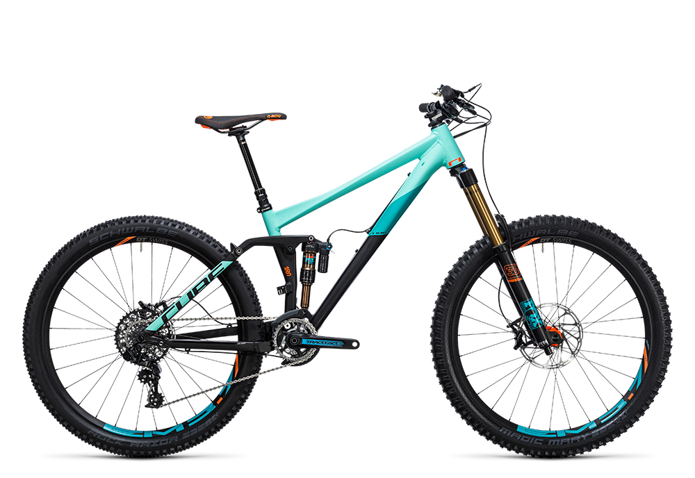 Cube Fritzz 180 HPA SL 27.5 black´n´mint 2017 Größe: 16´´ - Bergmann Bike & Outdoor