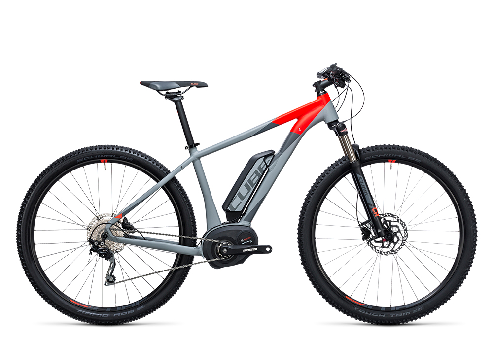 Cube Reaction Hybrid HPA Pro 400 grey´n´flashred 2017 Größe: 14´´ - Bergmann Bike & Outdoor