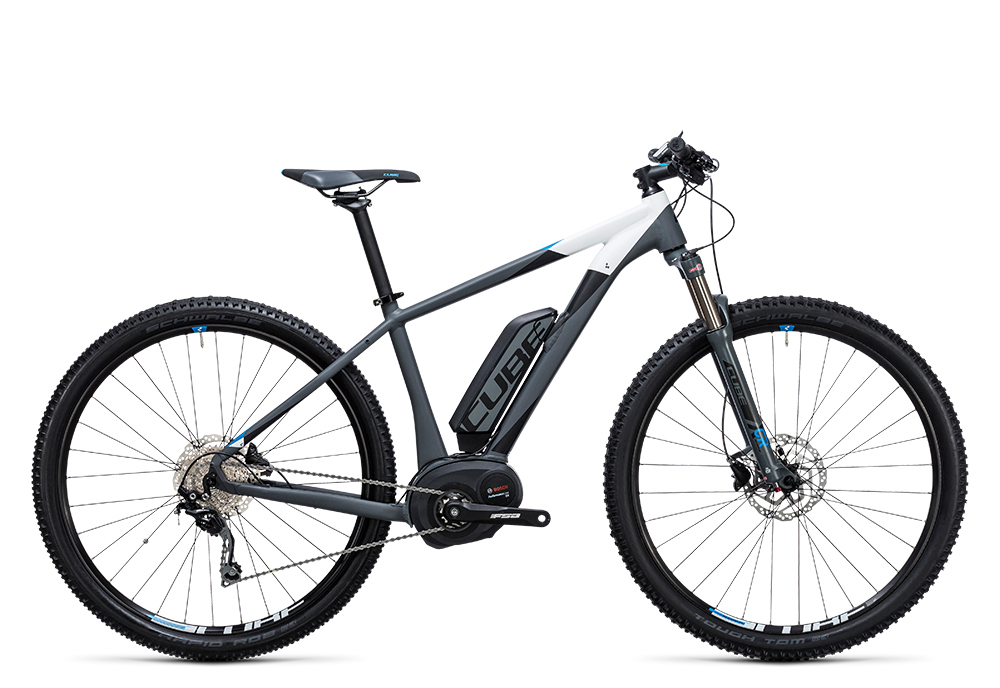 Cube Reaction Hybrid HPA Pro 400 grey´n´blue 2017 Größe: 14´´ - Bergmann Bike & Outdoor
