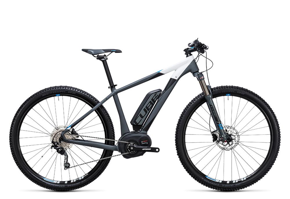 Cube Reaction Hybrid HPA Pro 500 grey´n´blue 2017 Größe: 14´´ - Bergmann Bike & Outdoor