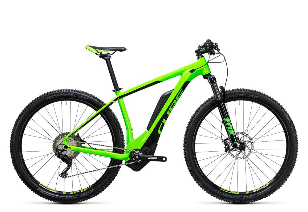 Cube Reaction Hybrid HPA SLT 500 green´n´flashgreen 2017 Größe: 16´´ - Bergmann Bike & Outdoor