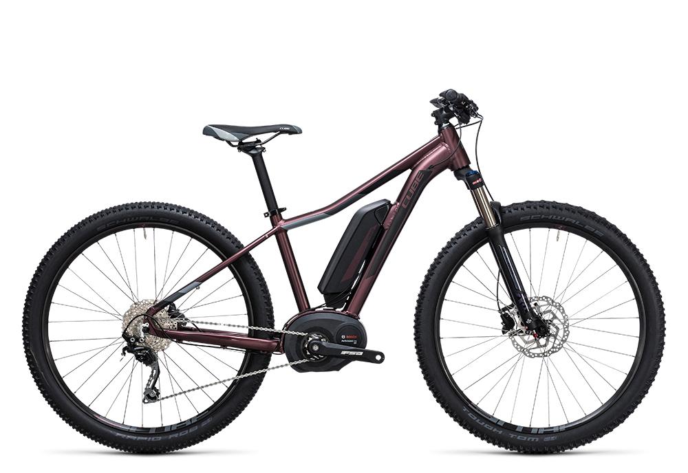 Cube Access WLS Hybrid Pro 400 hazy purple´n´grey 2017 Größe: 17´´ - Cube Bikes » Fahrrad kaufen im Cube Bike Store Fahrrad Shop