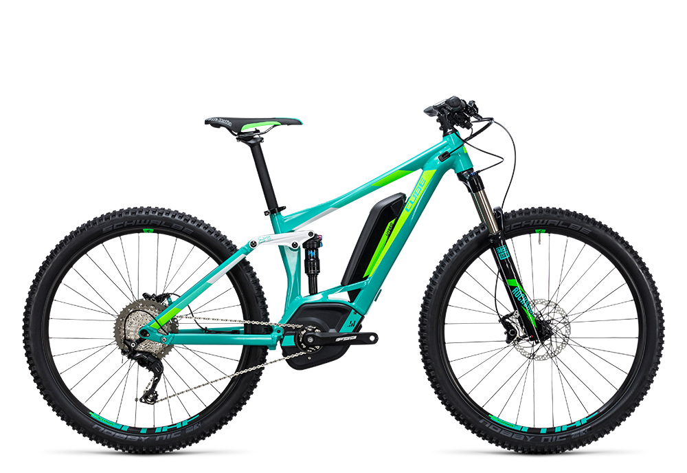 Cube Sting WLS Hybrid 120 SL 500 27.5 mint´n´flashgreen 2017 Größe: 16´´ - Bergmann Bike & Outdoor