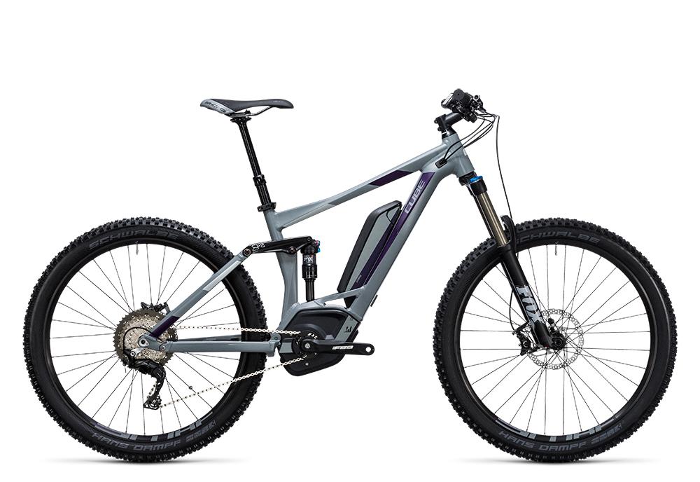 Cube Sting WLS Hybrid 140 SL 500 27.5 grey´n´aubergine 2017 Größe: 16´´ - Bergmann Bike & Outdoor