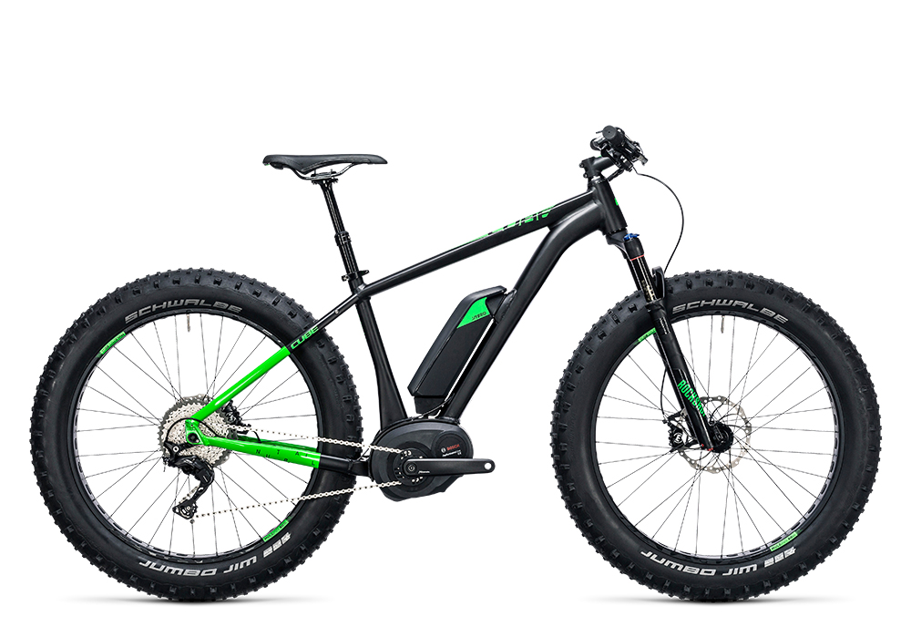 Cube Nutrail Hybrid 500 black´n´green 2017 Größe: 17´´ - Bergmann Bike & Outdoor