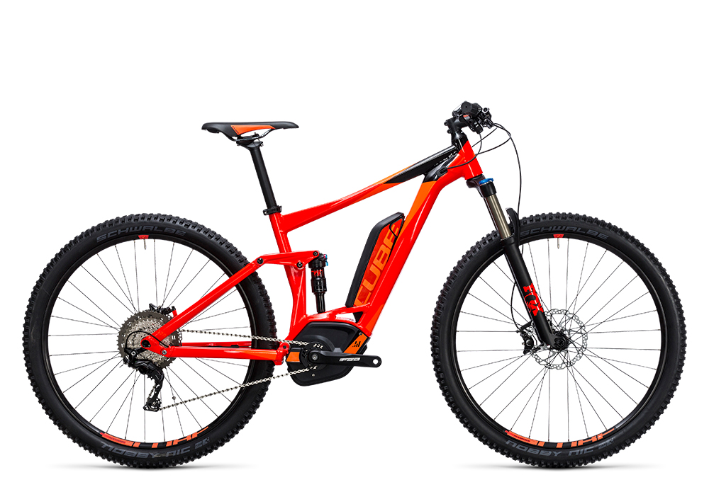Cube Stereo Hybrid 120 HPA Race 500 red´n´flashorange 2017 Größe: 16´´ - Bergmann Bike & Outdoor
