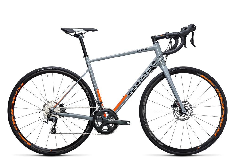 Cube Attain Race Disc grey´n´flashorange 2017 Größe: 56 cm - Cube Attain Race Disc grey´n´flashorange 2017 Größe: 56 cm