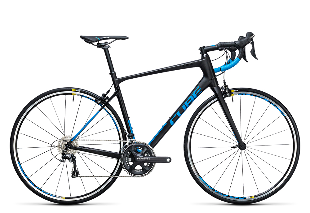 Cube Attain GTC Race carbon´n´blue 2017 Größe: 50 cm - Bergmann Bike & Outdoor