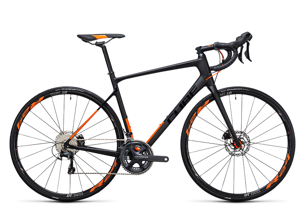 Cube Attain GTC SL Disc carbon´n´flashorange 2017 Größe: 50 cm - Bergmann Bike & Outdoor