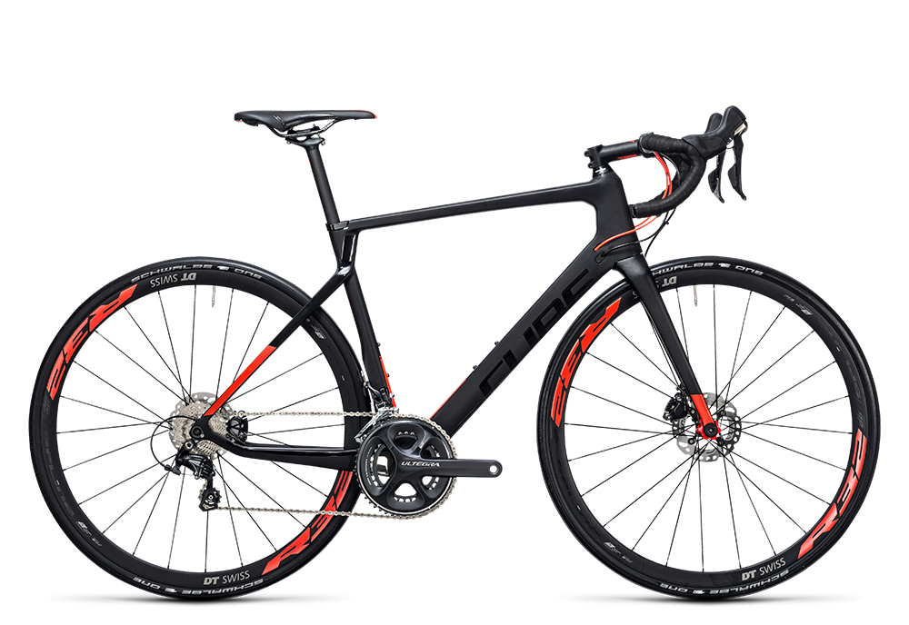 Cube Agree C:62 Race Disc carbon´n´flashred 2017 Größe: 50 cm - Bergmann Bike & Outdoor
