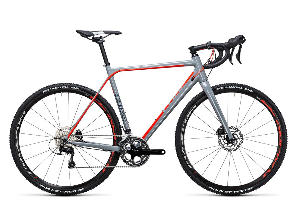 Cube Cross Race Pro grey´n´flashred 2017 Größe: 50 cm - Bergmann Bike & Outdoor