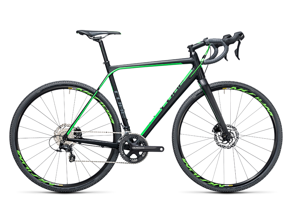 Cube Cross Race SL black´n´green 2017 Größe: 61 cm - Cube Cross Race SL black´n´green 2017 Größe: 61 cm